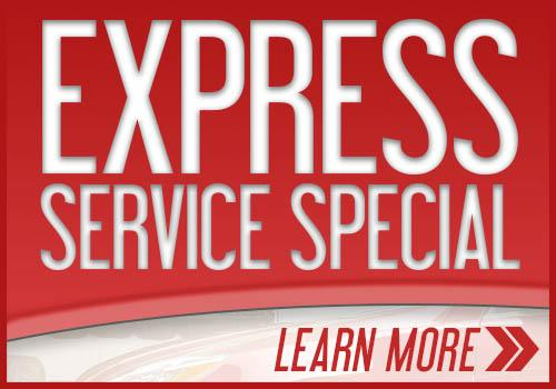 Express Service Special - Mini Banner