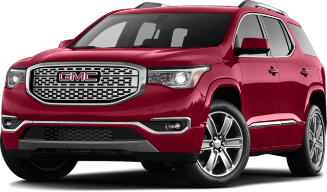 2017 GMC Acadia Red-2