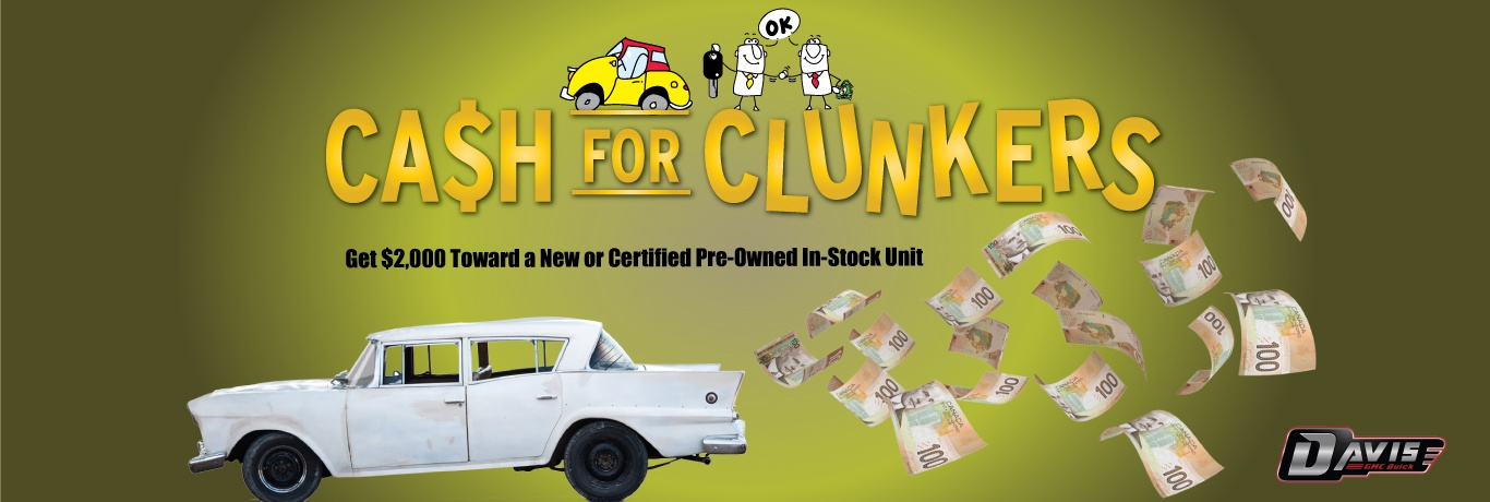 Cash For Clunkers Alberta
