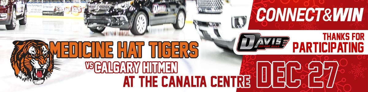 Connect & Win at the Tiger's Game December 27th. Thanks for Participating!