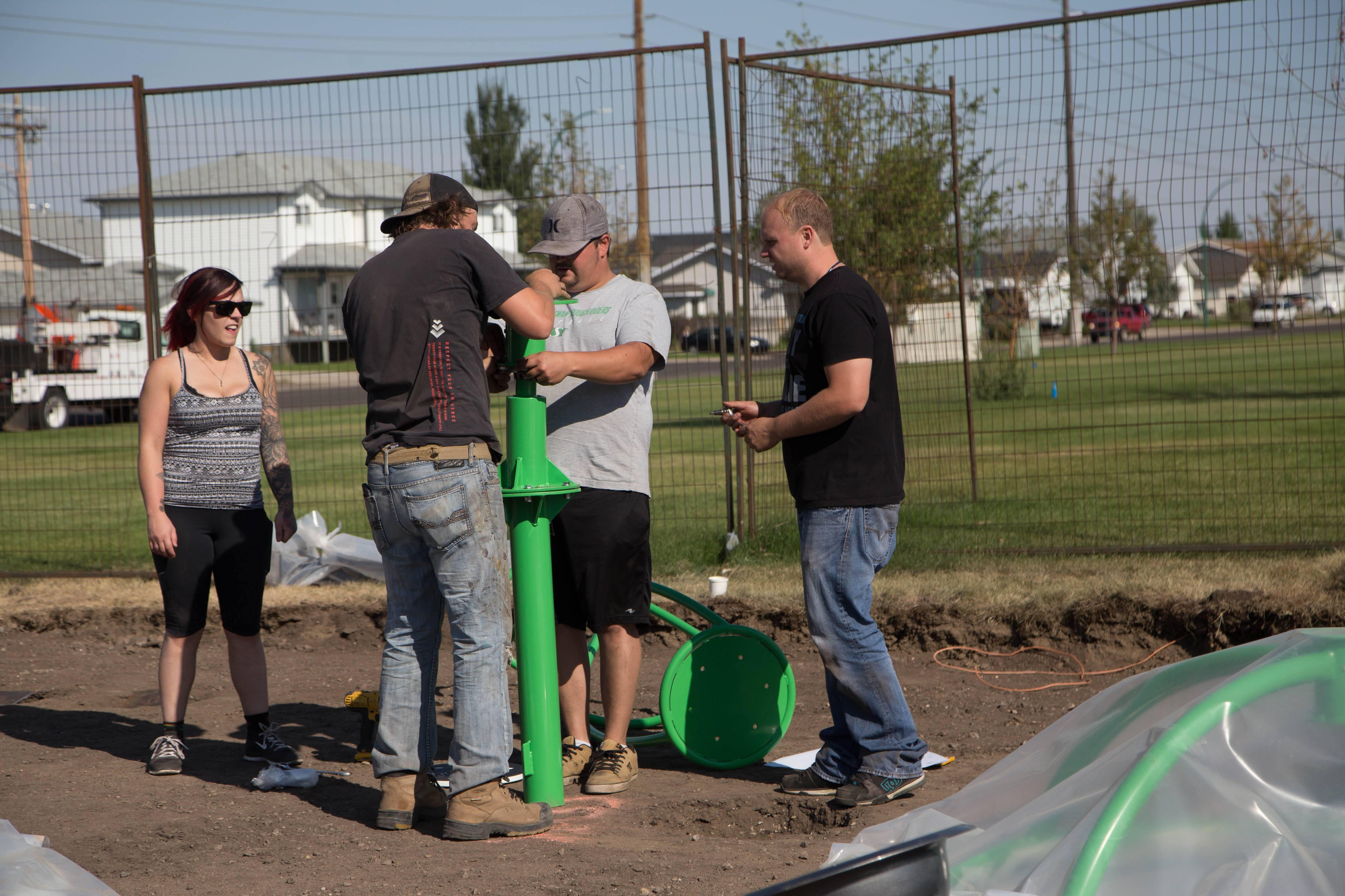 Playground Building Ken Sauer School Davis Gmc Trucks