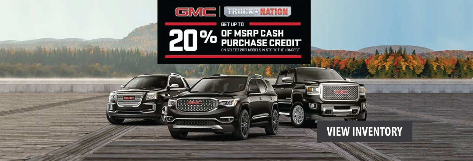October GMC Offers