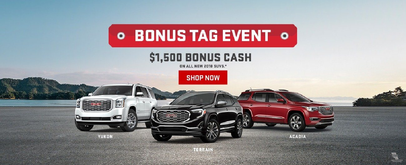 GMC Bonus Tag Event